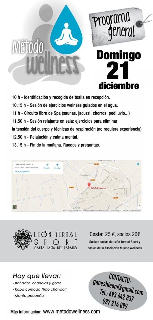 Programa domingo 21 diciembre