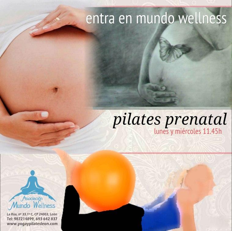 cartel pilates prenatal
